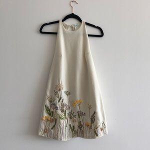 Hand Embroidered Summer Dress
